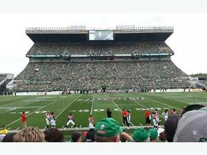 3 AMAZING midfield tickets for Riders vs Lions
