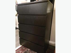 Commode MALM IKEA 6 drawer chest