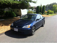 REDUCED 2003 Honda Civic Coupe (2 door)