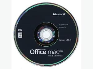 MS Office for Mac Home and Business 2011, 1-User, English Gatineau Ottawa / Gatineau Area image 1