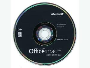 MS Office for Mac Home and Business 2011, 1-User, English