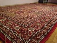 Red Persian Rug 170x230cm Great Condition Originally from Ikea