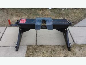 "Used Dsp original 17K 35"" fifth wheel hitch rails and frame brac"