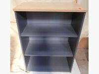3 Tier Wooden Bookshelf / Office Storage
