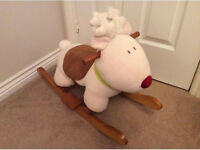 Mamas and Papas Rudolph Reindeer rocker rocking horse