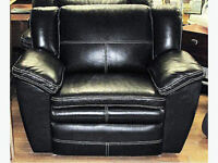 Carmen La-Z-Time® Real Leather Reclining Chair