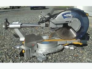 "12"" miter saw ->Never used"
