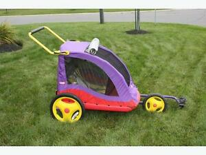 2 seater little tikes bike trailer