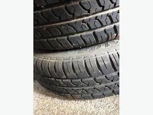 4 Mini Truck Tires and Rims - Great Deal!!!