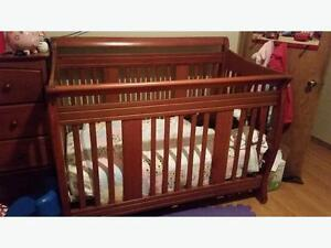 Stockcraft 4-in-1 Convertible Crib with Mattress for $180 obo
