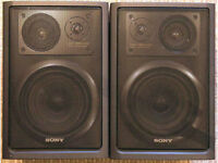 SONY 3 WAY SPEAKERS ( Made in Japan)