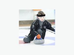 Goldline curling protective head gear