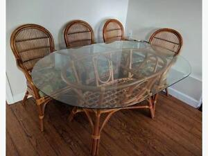 Ratana Wicker Dining Set