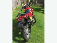 Gy 125cc trail bike as new not road regeisterd
