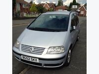 VW sharan 1 owner from new
