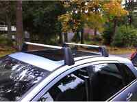 Roof rack mercedes B200 barres support toit