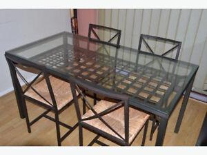 Ikea Granas Glass Dining Table - $60 OBO