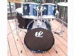 Drum batterie tout inclut avec cymbales stand pedales