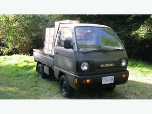 4x4 Suzuki Carry Mini-Truck