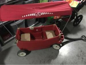 Step 2 Covered Red Wagon