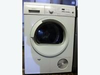 Siemens E46.38 7kg White LCD Display Sensor Condenser Tumble Dryer 1YEAR GUARANTEE FREE DELIVERY