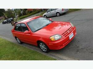 2004 Hyundai Accent ONLY 64000km QUICK SALE