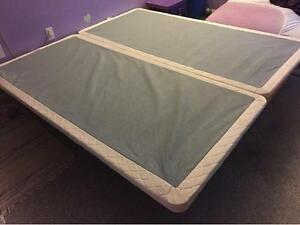 King Sized Low-Profile Mattress Box Spring