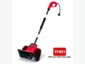 7.5 Amp Electric Power TORO Shovel with 12-inch Clearing Width