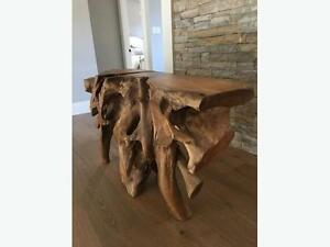 Entry/Console Table (Teak Root)