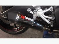 Scorpion Carbon Exhaust For Yamaha YZF R125