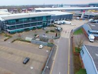 Brand new industrial warehouse to let. 80,000 sq ft. Colnbrook. Crossrail nearby. Also Heathrow
