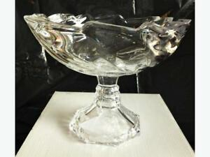 "8"" pedestal footed bowl"