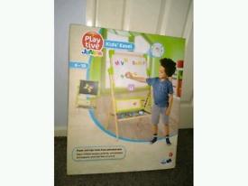 Brand New Boxed Playtive Junior Kids Easel 4-10