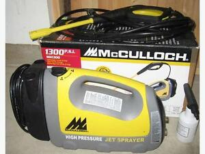 McCullough Power Washer