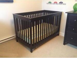 You have a baby! I have a crib!