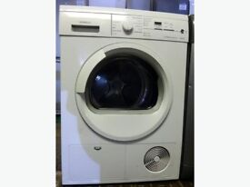 98 Siemens E46.38 7kg White LCD Sensor Drying Condenser Tumble Dryer 1 YEAR GUARANTEE FREE DELIVERY