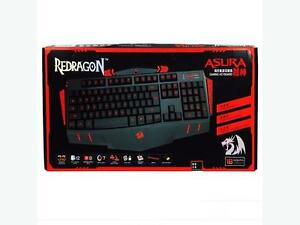 NEW Redragon ASURA USB Gaming Keyboard