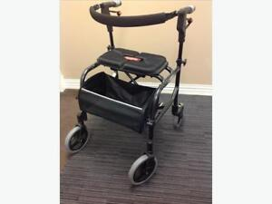 NEXUS 3  walker / rollator, with soft basket,  perfect  cond.
