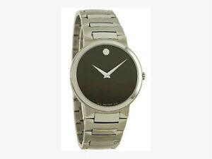 Movado Swiss Quartz Steel Watch