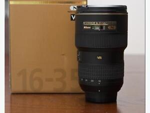 Nikon 16-35mm F4 Full Frame Lens.