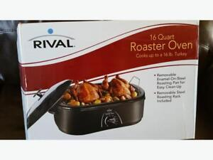 Electric oven roaster