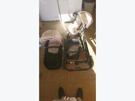 Hauck colt pushchair travel system