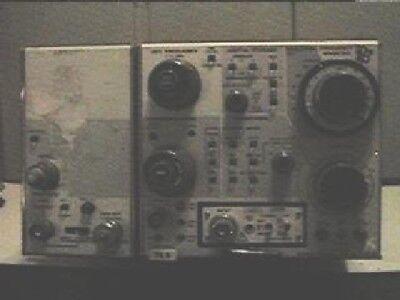 Tektronix 7l5 Spectrum Analyzer Plug-in 10hz - 5mhz Option 12 .25 Fb Mod Nr