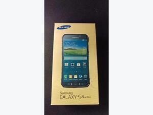 Unlocked Black Samsung Galaxy S5 Active Brand New Unlocked