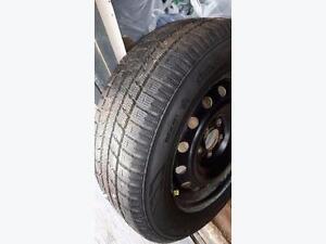 205/65R16 Toyo Observe GSI-5 on steel wheels for Toyota Camry. $104.95 each (75% tread)