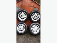 Chrysler Voyager Alloy Wheels X 4 (2 sets available) with tyres bargain!