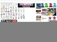 Satellite Tv box 12 months free gift xmas
