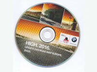 BMW, AUDI, VW, MERCEDES, UK, EUROPE 2016 MAPS UPDATE DVD
