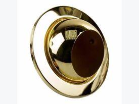 JCC Eye Ball R63 Light Fitting - Polished Brass