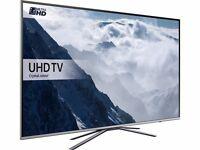 43'' SAMSUNG SMART 4K ULTRA HD HDR LED TV.UE43KU6400. FREESAT HD . FREE DELIVERY/SETUP. BOXED